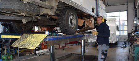 Die Caravanprofis - Meister Werkstatt in Traunstein für Campingwagen und Caravan